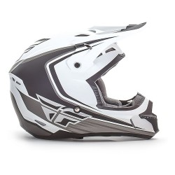 Casco Fly Kinetic Full Speed Matte White Black