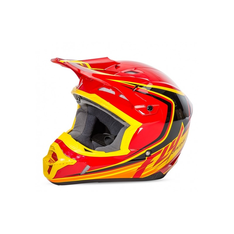 Fly Kinetic Full Speed Red Black Yellow