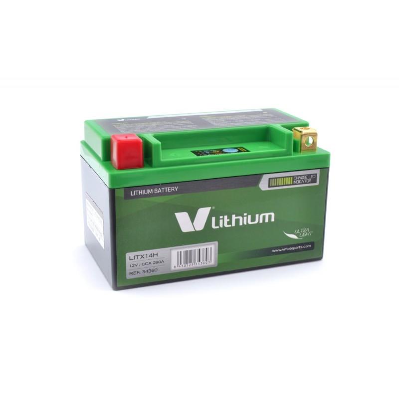 Bateria de litio V Lithium LITX14HQ (Con indicador de carga)