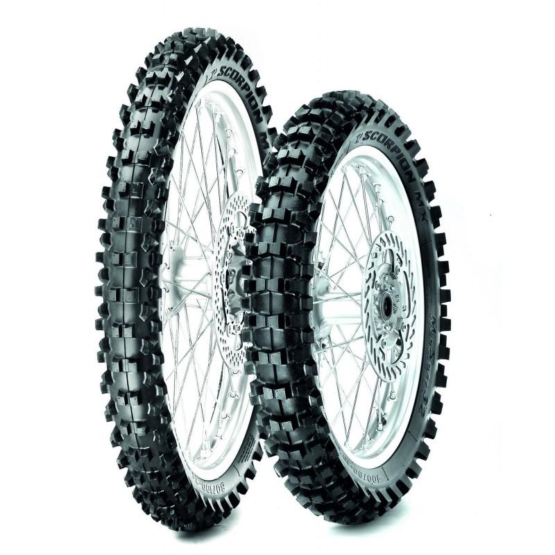Neumático Pirelli MX Scorpion MX Mid Soft 32 80/100-12 M/C 50M TT