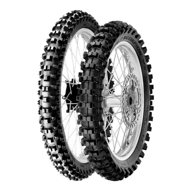 Neumático Pirelli MX Scorpion XC Mid Soft 120/100-18 M/C 68M TT