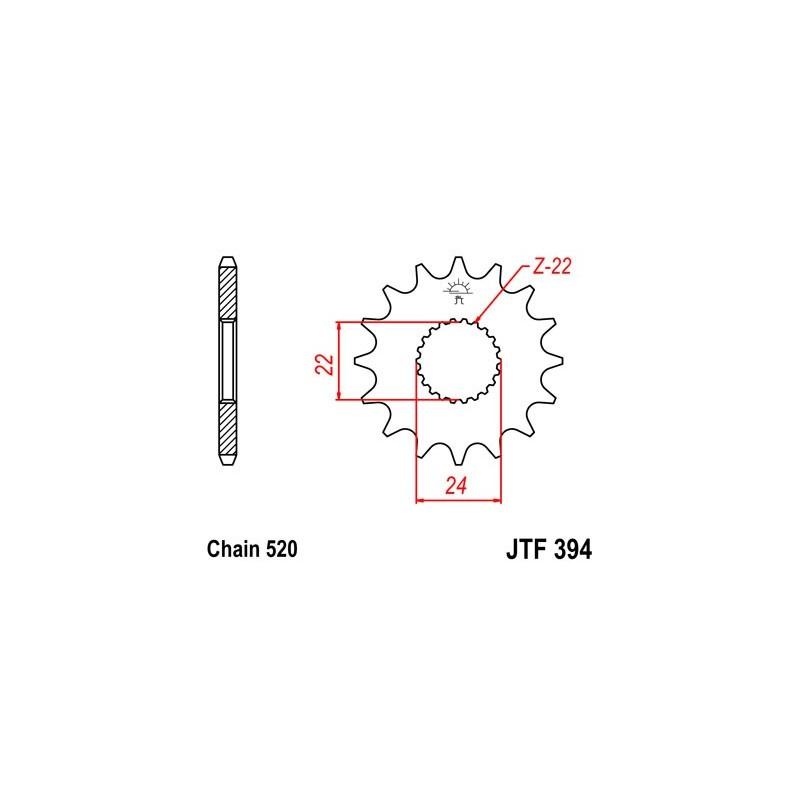 TUBO Connettore Dritto 13mm x 2 PWN526 WOT-Nots originali di ricambio di qualità superiore