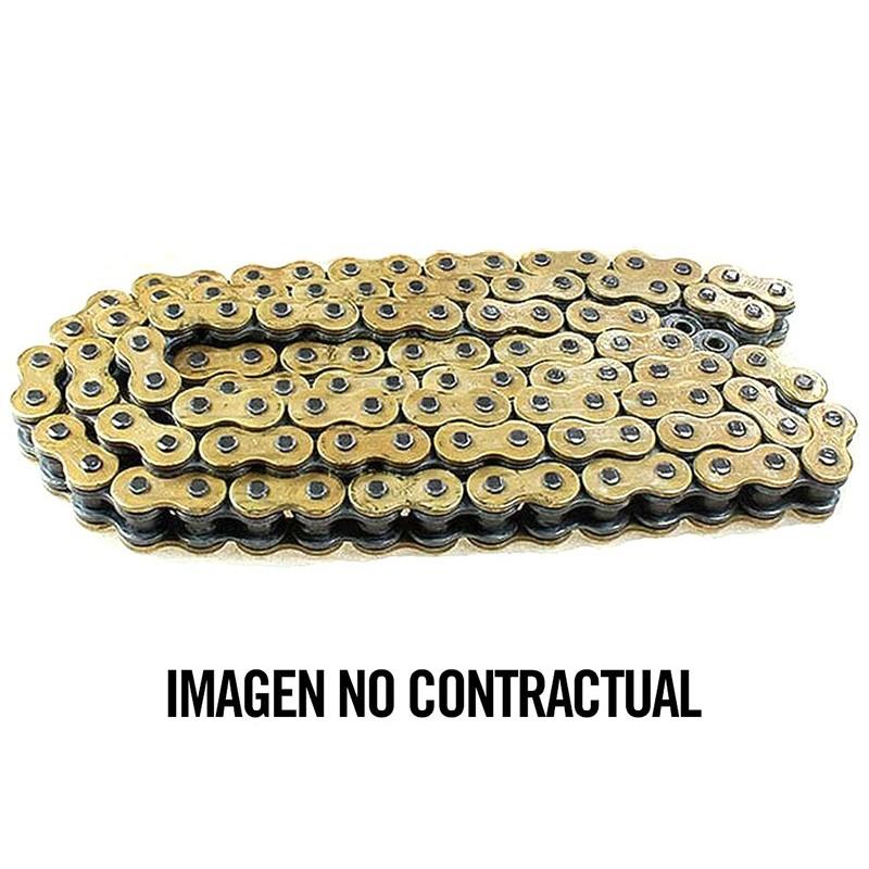 Cadena DID 520DZ2SDH con 120 eslabones oro/negro
