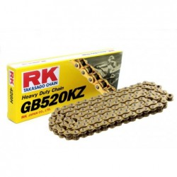 Cadena RK GB520KZ con 118 eslabones oro