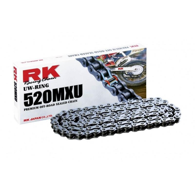 Cadena RK 520MXU con 118 eslabones negro