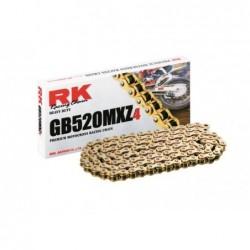 Cadena RK GB520MXZ4 con 118 eslabones oro