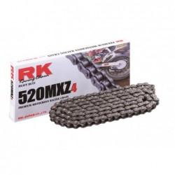 Cadena RK 520MXZ4 con 120 eslabones negro