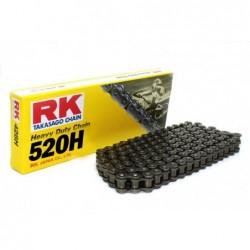 Cadena RK 520H con 118 eslabones negro