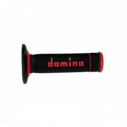 Puños off road Domino Extrem negro/rojo A19041C4240