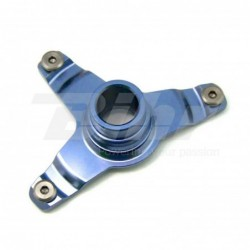 Soporte protector disco delantero ART KTM azul